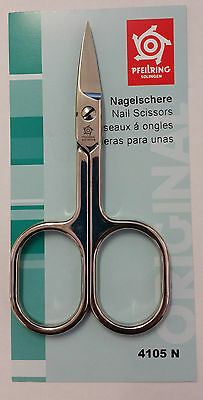 Pfeilring 4105N Nail Scissors Straight Nickel-Plated 90mm - Made in Germany
