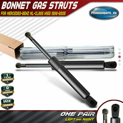 2x Bonnet Gas Struts for Mercedes-Benz W163 98-05 ML230 ML270 ML320 ML350 ML430