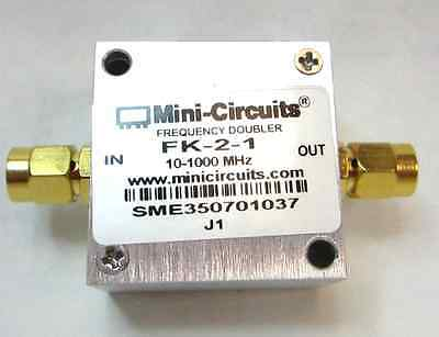 Minicircuits  FK-2-1 Frequency Doubler 10-1000 MHz