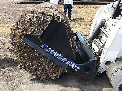 Skid Steer Big Roll Sod Installer