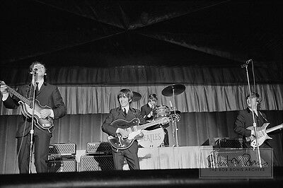THE BEATLES Kansas City Concert UNPUBLISHED 1964 LIMITED EDITION PHOTOGRAPH