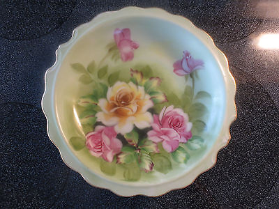 Nice Hand Painted Norleans Japan Shallow Bowl
