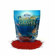 PET-592061 Aquatic Roman Gravel Rosso Red  (2kg)
