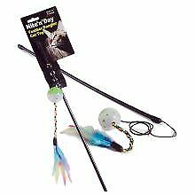 PET-753731 Ruff 'N' Tumble Nite 'N' Day Feather Dangler