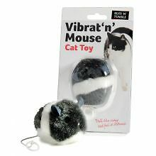 PET-755890 Ruff 'N' Tumble Vibrat 'N' Mouse Cat Toy (7cm)