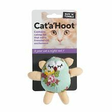 PET-147421 Ruff 'N' Tumble Cat 'A' Hoot  (11cm)