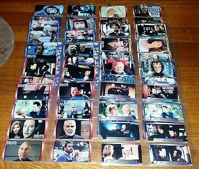 "SET: Star Trek The Next Generation ""Insurrection"" Movie Trading Cards"