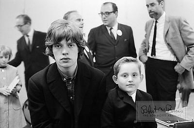 MICK JAGGER Rolling Stones 1964 with Young Fan LIMITED EDITION Photograph TAMI