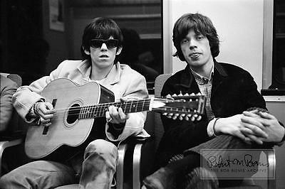 MICK JAGGER Rolling Stones KEITH RICHARDS Guitar 1965 LIMITED EDITION Photograph