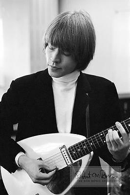 BRIAN JONES Rolling Stones VOX Teardrop 1964 GUITAR LIMITED EDITION Photograph