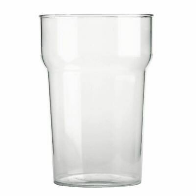 BBP Stackable Beer Glass in Polycarbonate 570 ml 20 oz 48 pc