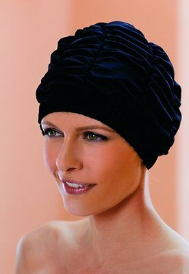 NEW Ladies Black Shower Cap Fashy Traditional Style
