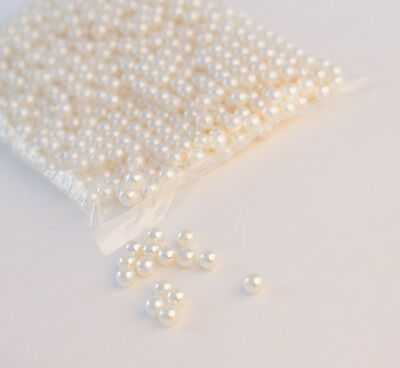 Decorative Pearl Beads 10mm - 1000 pcs  White/ Ivory Decor Arts and Craft Pearls