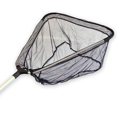 Koi Fish Catch Nets + Pond Triangle Catching Landing Net Opt. Telescopic Handle