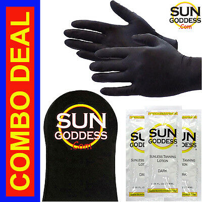 Sun Goddess - Sunless Self Tanning Application Mitt & Gloves + FREE SHIPPING!