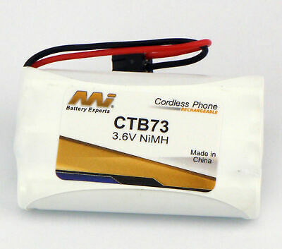 Uniden Bt446 Replacement For Bt909 Cordless Phone Battery New Nimh