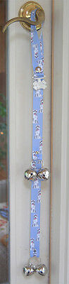 Husky Puppy Dog Potty Training Doorbells Poochie Bells
