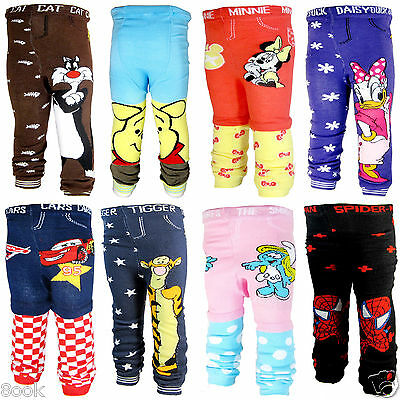 Cute Cotton Bottoms Leggings Trousers for Baby Toddler Kid Boys Girls 6-36Months