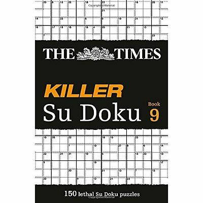 The Times Killer Su Doku: Book 9 The Mind Games Books PB / 9780007465194