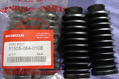 Honda Z50 Qa50  4 Inches Fork Rubbers Oem (1 Set 2 Rubber)