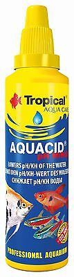 Tropical Aquarium Fish Tank, pH Minus Reduces pH/KH Water, Alkalinity, Quality