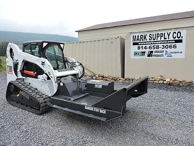 "CID Xtreme 60"" Brush Hog Cutter Mower For Bobcat Skid Steer Loader Attachment !"