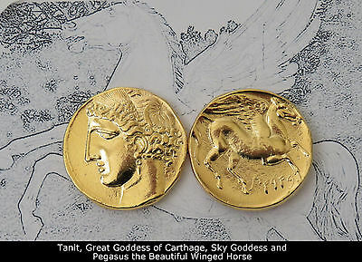 Percy Jackson Fans,Greek Gods Collection,#13G, TANIT/PEGASUS,Goddess/Carthage