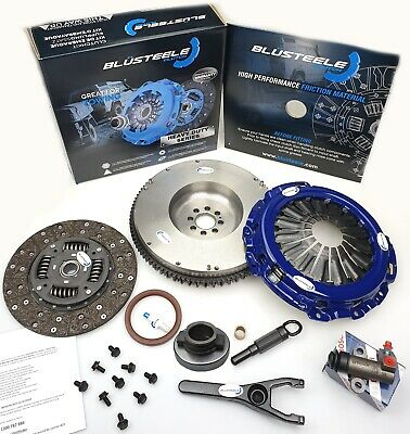 blüsteele HEAVY DUTY Clutch kit for NISSAN navara D40 & solid FLYWHEEL YD25DDTI