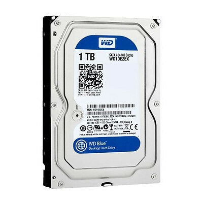 WESTERN DIGITAL BLUE 1TB WD10EZEX HDD SATA 7200rpm *OZ-STOCK* [F03]