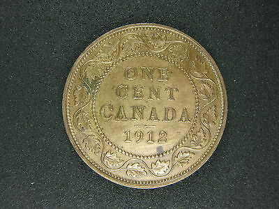 1912 Canadian Penny Collectible, High Quality for any Collection,  Shipping Incl