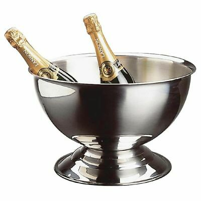 APS Champagne Bowl 13.5Ltr 18/8 Polished Stainless Steel Ice Bucket Cooler