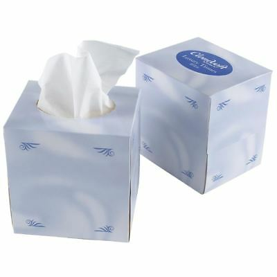 24X Facial Tissues Cube Boxes Disposable 2 Ply Hotel Guesthouse B&Bs