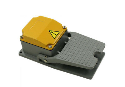 NEW Heavy Duty Industrial Foot Switch Pedal 15A SPDT==ALL ALUIMINUM CAST== L1