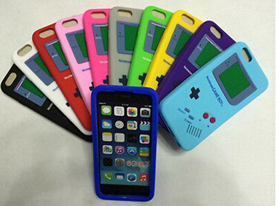 MULTI COLOURS Skin Gameboy Silicone Soft Case Cover For Apple Phone