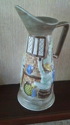 H J Wood Ltd Burslem England Jug Pottery 1930'S