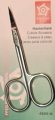 Pfeilring 4260N Cuticle Scissors  Nickel-Plated 90mm - Made in Germany
