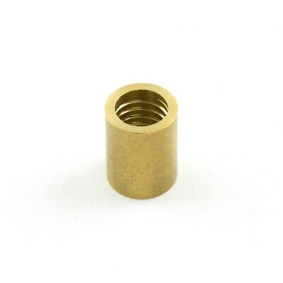 POOL SNOOKER BILLIARD CUE Tip Brass Ferrules, to suit Glue on type tips 10mm