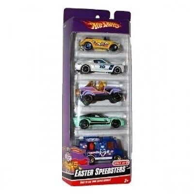 Hot Wheels Exclusive 2010 Easter Speedsters Car Set. Free Shipping