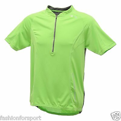Dare2b TRANSFIX Mens Short Sleeved Cycling Jersey Cycle Bike Jersey Top T-Shirt