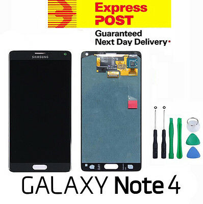 Samsung Galaxy Note 4 4G N910 LCD Touch Screen Digitizer Display Assembly GREY