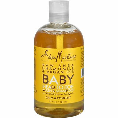 Shea Moisture Baby Head-To-Toe Wash And Shampoo Raw Shea Chamomile And Argan Oil
