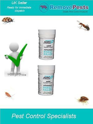 2 x moth clothes moth carpet moth flying Insects smoke fumer bombs AP