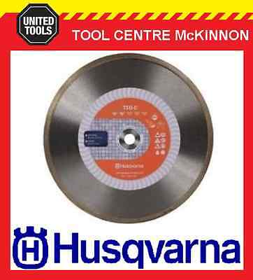 "HUSQVARNA 9"" / 230mm CONTINUOUS RIM DIAMOND BLADE FOR ANGLE GRINDERS"