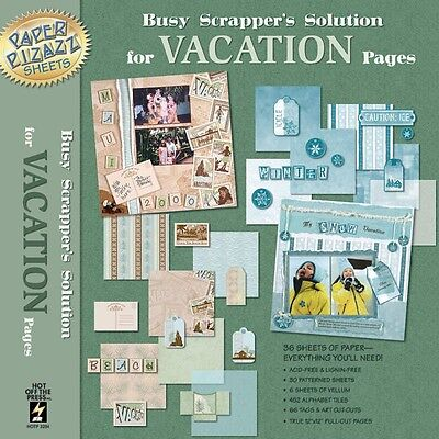 """HOTP 12""""x12"""" Busy Scrappers Solution ~ Vacation"""