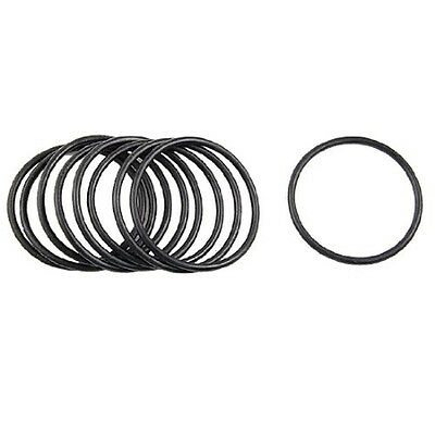 10 pcs 60mm x 3.5mm Mechanical Nitrile Rubber O Ring Oil Seal LW