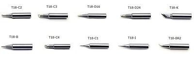 HAKKO Soldering tips 10pcs Official products T12 series