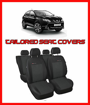 Seat covers  for NISSAN QASHQAI II  2013 - on  Tailored seat covers full set - 1