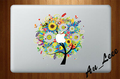 Macbook Air Pro Skin Sticker Decal - Abstract Spring Season Tree Nature CMAC049