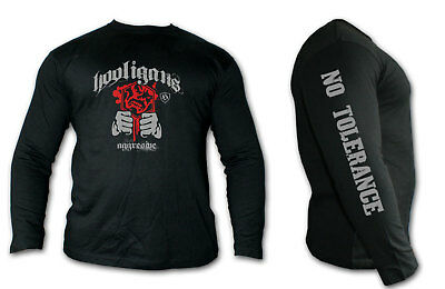 Long-sleeved t-shirt MMA HOOLIGAN Ideal for Training,MMA Fighters,Casual wears!