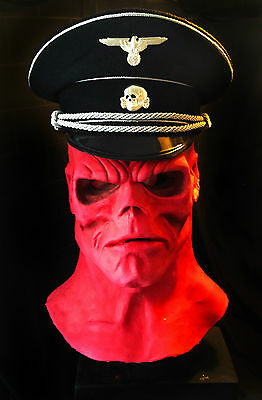 THE RED SKULL LATEX MASK - fully wearable!
